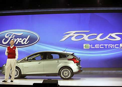 Ford - Intenational Ces Ford Focus Electric