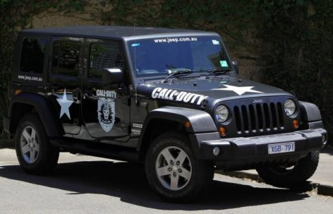 Jeep - Jeep Wrangler Call of Duty: Black Ops