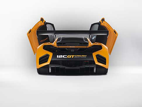 McLaren - McLaren 12 C GT Can-Am Edition super sportiva da gara
