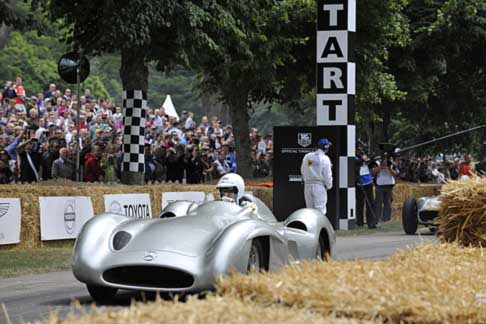 Mercedes-Benz - Mercedes-Benz at the Goodwood Festival of Speed 2014