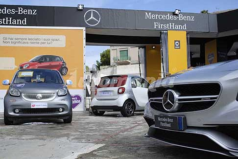 Mercedes-Benz - Mercedes-Benz FirstHand city car Smart usato garantito alla Fiera del Levante di Bari 2016