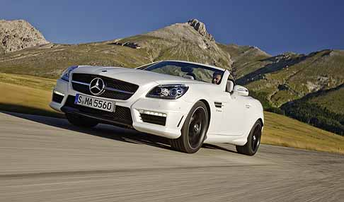 Mercedes-Benz - Supercar Mercedes-Benz SLK 55 AMG