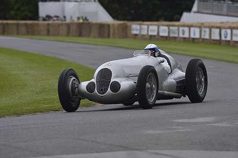 Mercedes - Monoposto storica Mercedes-Benz al Goodwood Festival of Speed