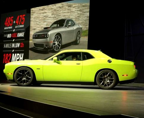 Dodge - New 2015 Dodge Challenger Shaker al Salone di New York 2014