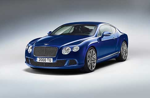 Bentley - The New Benley Continental GT Speed berlina di lusso
