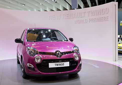 Renault - New Renault Twingo on booth