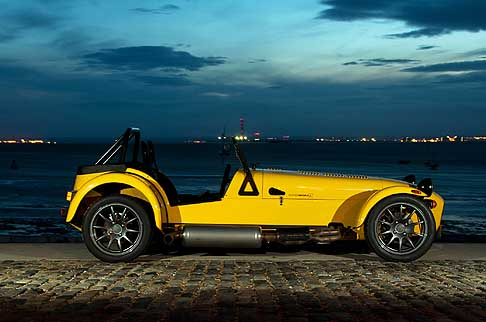 Caterham - New Caterham Seven Supersport R laterale vettura