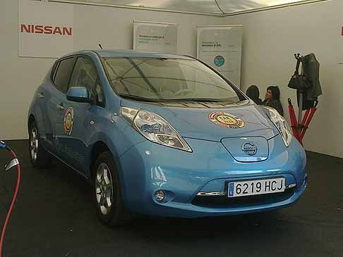 Nissan - Nissan Leaf prima auto elettrica a vincere il premio «World Car of the Year 2011»