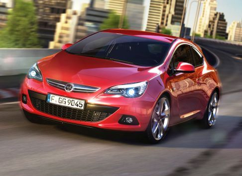 Opel - Opel Astra GTC versione commercializzabile