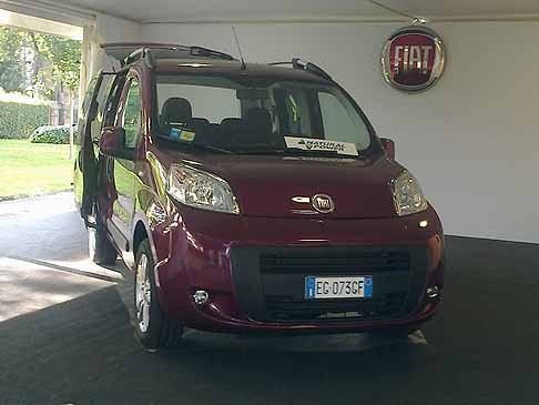 Fiat - Fiat Qubo natural power presente al MotechEco 2011