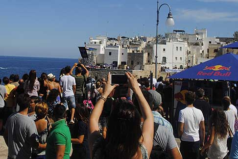Cliff Diving a Polignano - Tappa italiana di Polignano al Red Bull Cliff Diving World Series 2015