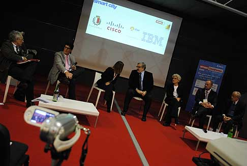 Smart City - Smau Bari relatori del Workshop Smart City «Le città Inteligenti: Opportunita per le imprese del territorio »