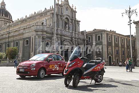 Enjoy - Scooter car Sharing di Enjoy sbarcano a Catania