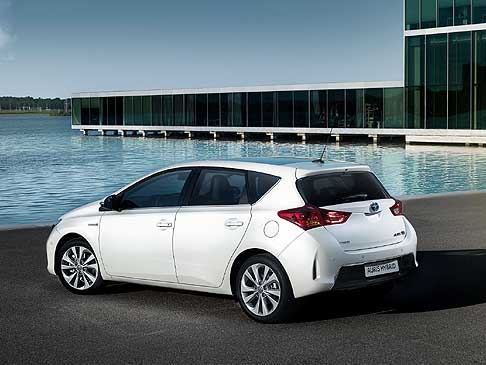 Toyota - Toyota Auris Hybrid my 2013 cambio Shift-by-Wire che controlla la guida ECO tramite display