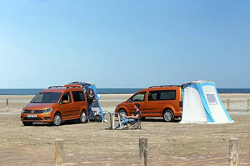 Volkswagen - Volkswagen California è disponibile in due allestimenti, entry level Beach e top di gamma Ocean.