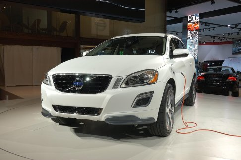 Volvo - Volvo XC60 Plug-in hybrid Concept cars a Detroit