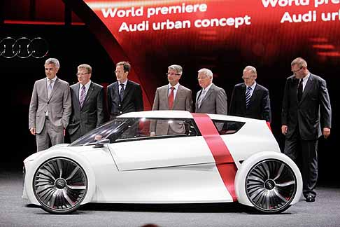 Audi - World Premieres of the Audi Urban concept