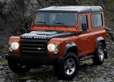 Land Rover Defender Limited Edition Fire/Ice
