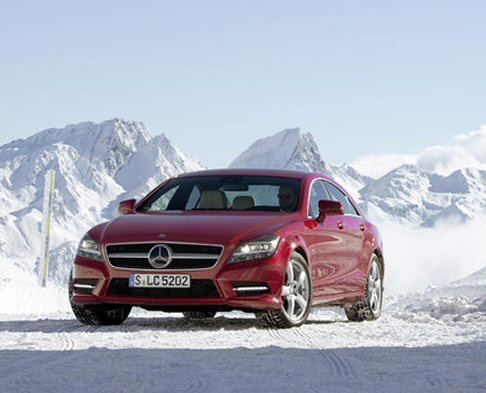 Mercedes-Benz CLS 4Matic 2012