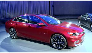 Chevrolet Malibu all'Auto Show di New York 2015