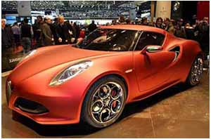 guarda il video dell alfa romeo 4c concept a ginevra 2011
