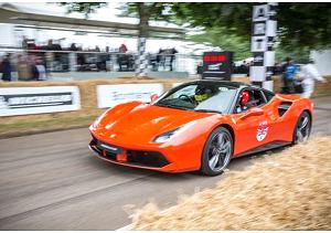Ferrari protagonista a Goodwood