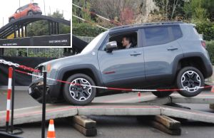 Jeep Renegade test drive Motor Show