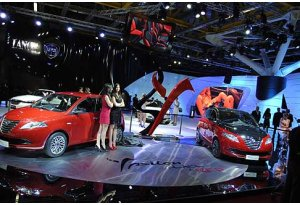 Lancia Ypsilon Black&Red in anteprima mondiale