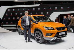 seat ateca il nuovo suv presentato a ginevra. Black Bedroom Furniture Sets. Home Design Ideas