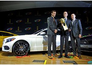 Tripletta Mercedes al World Car of the Year 2015