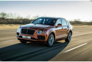 Bentley Bentayga Speed: lusso ad alte performance