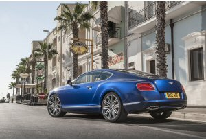 Bentley Continental GT Speed, l´esordio al Salone di Mosca