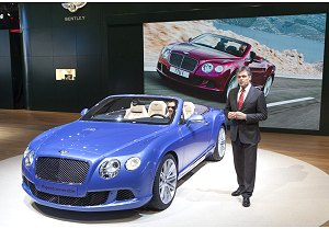 Nuova Bentley Continental GT Speed Convertible