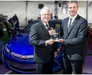 Chevrolet Volt è Green Car of the Year 2016