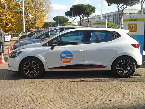 Renault - Renault Clio per i test drive al H2Roma energy&mobility Show