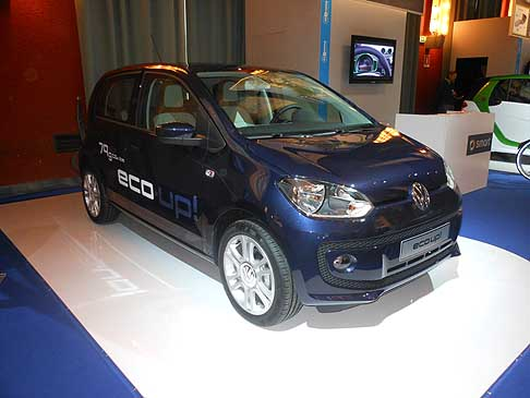 Volkswagen - Volkswagen Eco Up! BlueMotion Technology all´evento H2Roma energy&mobility Show
