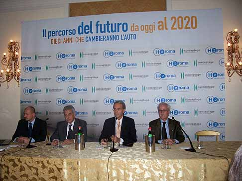 H2Roma Energy Mobility - Conferenza stampa IX edizione H2Roma Energy Mobility