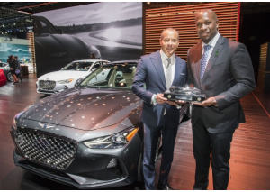 Genesis G70 è North American Car of the year 2019