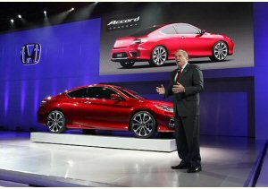 Honda Accord Coup� Concept: a Detroit sobriet� ed efficienza