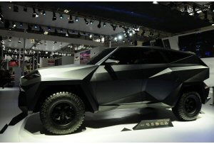 IAT Karlmann King: a Pechino il suv extralusso