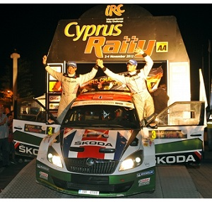 IRC, Rally Cipro 2012: vince Al-Attiyah, Andreas Mikkelsen campione