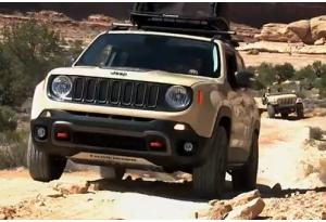 Off Road: Jeep Renegade affronta il Moab
