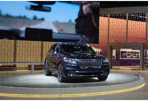 Lincoln Aviator: best in show al Naias