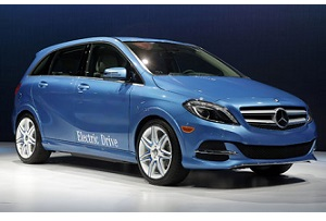 Mercedes Classe B Electric Drive al Salone di New York 2013