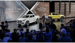 Mercedes Concept X Class: pick-up con stile