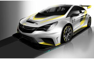 Opel Astra TCR, pronta la versione per il Touring Car Racing Series