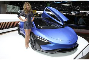 Techrules: la supercar made in China incanta Ginevra