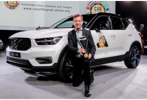 Car of the year 2018: vince Volvo XC40