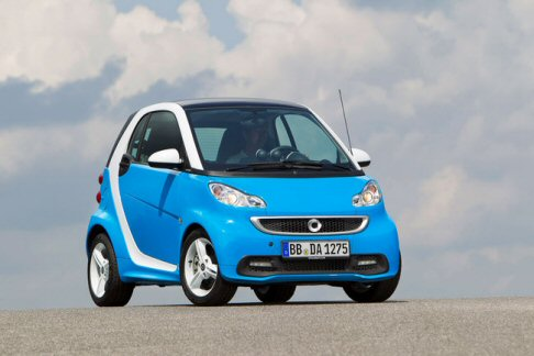 Smart fortwo edition iceshine