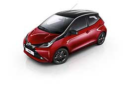Toyota Aygo XCite Red Edition